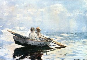 Winslow Homer - Barco a remo