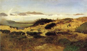 William Keith - Sand Dunes and Fog , San Francisco