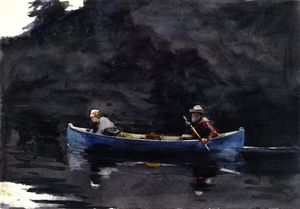 Winslow Homer - Cena no Adirondacks