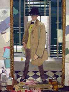 William Newenham Montague Orpen - Auto-retrato