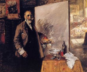 William Merritt Chase - Auto Retrato