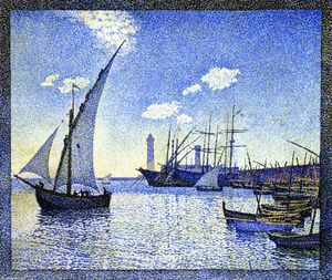 Theo Van Rysselberghe - Sète Harbour, os Tartans