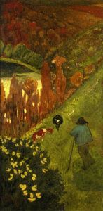 Paul Serusier - Pastor no vale de chateauneuf