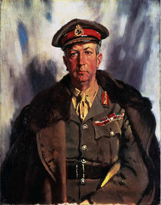 William Newenham Montague Orpen - Sir Arthur Currie