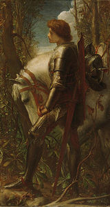 George Frederic Watts - Sir Galahad