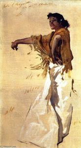 John Singer Sargent - Gypsy Spanish Dancer