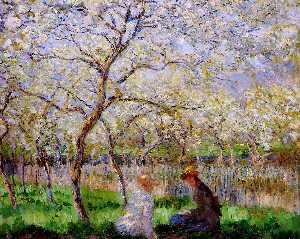Claude Monet - primavera