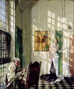 William Newenham Montague Orpen - O Studio