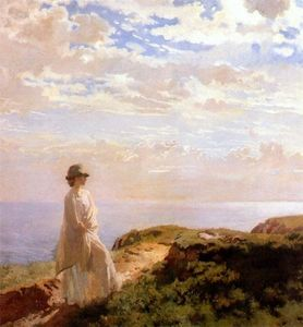 William Newenham Montague Orpen - a verão tarde