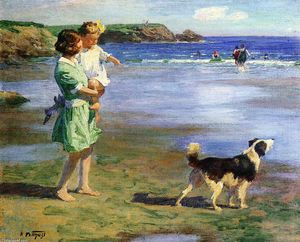 Edward Henry Potthast - Verão Pleasures