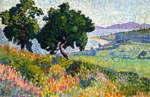 Henri Edmond Cross - Te Baie de Saint Clair