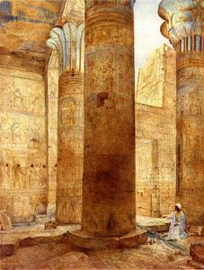 Henry Roderick Newman - Templo de Philae, Nubia