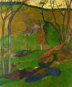 Paul Serusier - Rasteira em Huelgoat