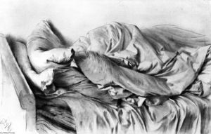 Adolph Menzel - Unmade Bed