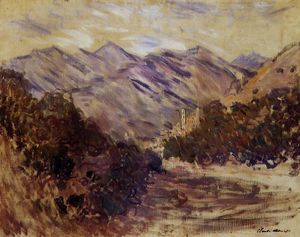 Claude Monet - O Vale do Nervia com Dolceacqua