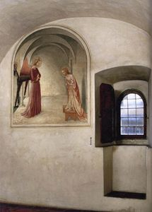 Fra Angelico - Vista of a célula ( null di San Marco , Florence )