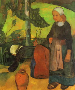 Paul Serusier - Lavadeiras