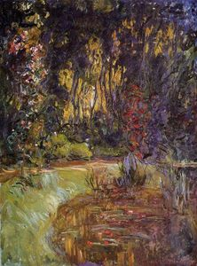 Claude Monet - Water-Lily Lagoa no Giverny