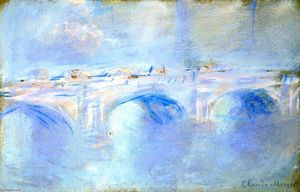 Claude Monet - Ponte de Waterloo