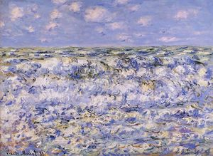 Claude Monet - Ondas de quebra
