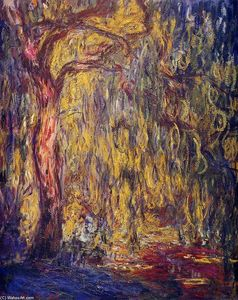 Claude Monet - Salgueiro Weeping