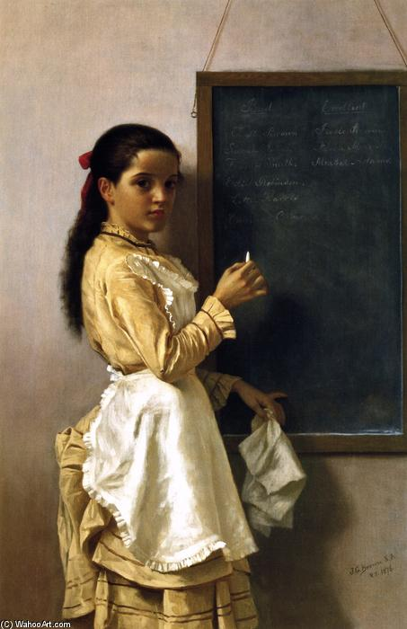 Qual é o seu Namr?, 1876 por John George Brown (1831-1913, United Kingdom) | WahooArt.com