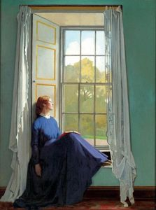 William Newenham Montague Orpen - O assento da janela