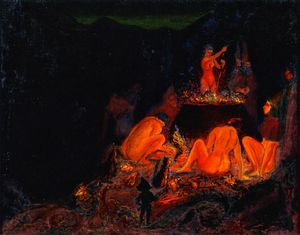 Paul Ranson - Witches em Saturnalia