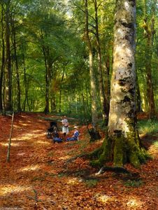 Peder Mork Monsted - O Woodland Glade