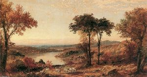 Jasper Francis Cropsey - Wyoming Valley, Pennsylvania