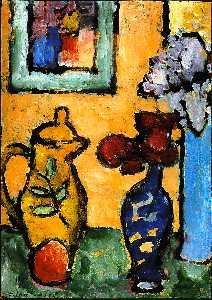 Alexej Georgewitsch Von Jawlensky - Yellow Coffee Pot