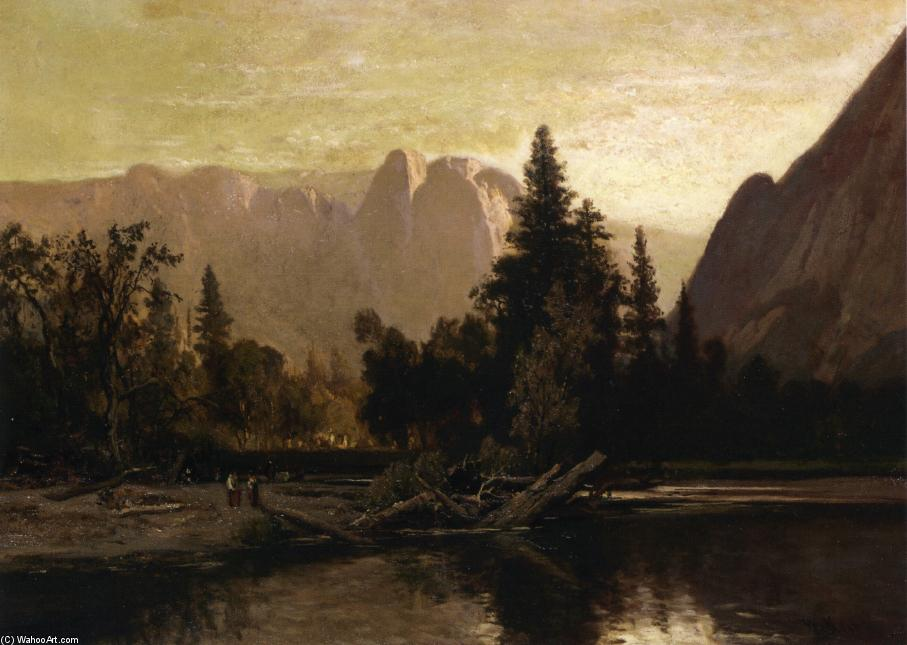 Vale de Yosemite, óleo sobre tela por William Keith (1838-1911, Scotland)