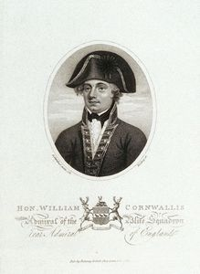 Daniel Gardner - William Cornwallis Como Admiral