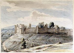Moses Griffith - Ludlow Castle_2