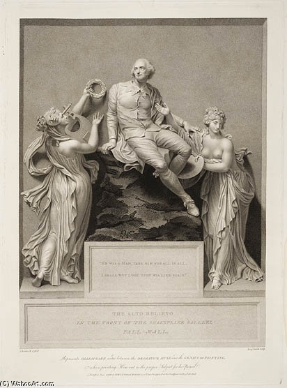 Benjamin Ferreiro de thomas Banks's escultura em relevo por Thomas Banks (1737-1823, United Kingdom)