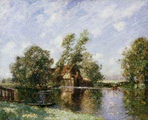 Thomas E Mostyn - The Old Mill, Houghton, Cambridgeshire