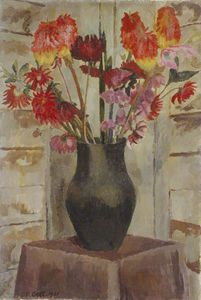 Vanessa Bell - Red-hot Pokers
