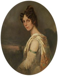 William Arnold Woodhouse - o Artist-s Esposa , Maria Isabel -