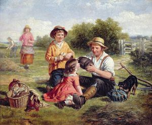 William Hemsley - Hayfield
