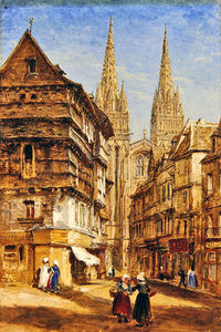 William Parrott - st corentin de quimper Catedral