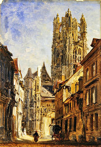 William Parrott - st laurent Igreja , Rouen