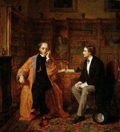 Esperamos - por William Powell Frith (1819-1909, United Kingdom) | Reproduções De Pinturas Famosas | WahooArt.com
