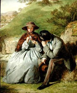William Powell Frith - amantes -