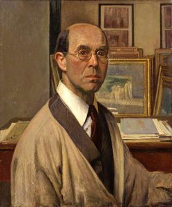 William Rothenstein - auto-retrato