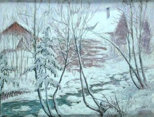 William Samuel Horton - Chalets na neve