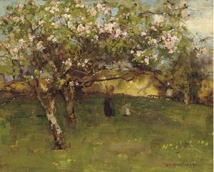William Stewart Macgeorge - Em The Orchard