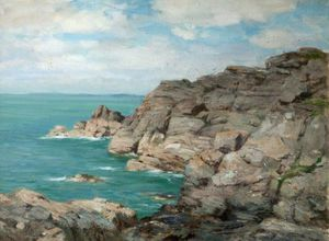 William Stewart Macgeorge - Litoral Rocky
