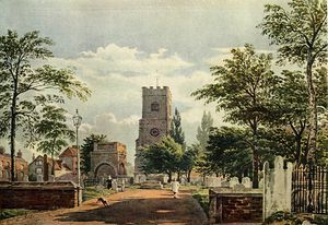 John Varley I (The Older) - Hackney Igreja