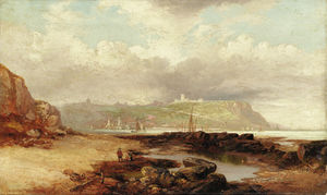 John Wilson Carmichael - A View Of Dover Castle do porto