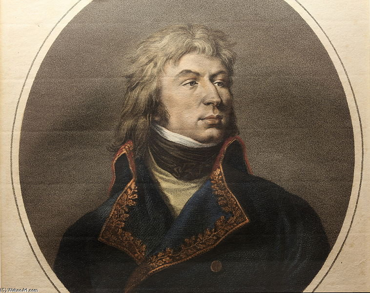 Retrato do general Jean Reynier por Paulin Jean Baptiste Guerin (1783-1855, France)